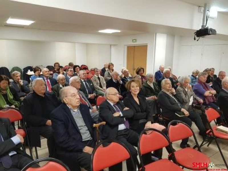 Conférence du VAE Giraud - l'auditoire