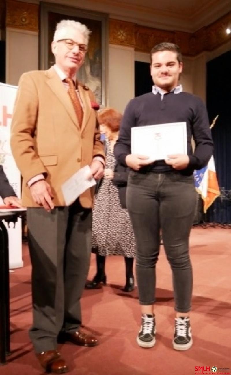 Monsieur Olivier du Plessis et son filleul Mattéo Bochand